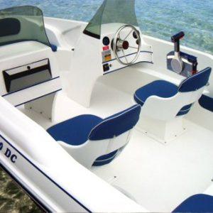 olympic boats 4,60 br çift konsol fiber tekne