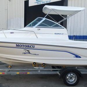 olympic boats 520 c kamaralı fiber tekne