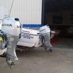 olympic boats 4,90 cc canlı livarlı lüx fiber tekne